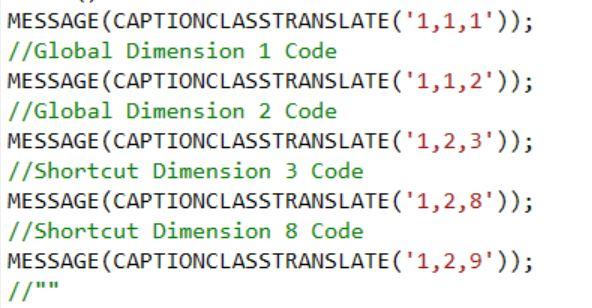 dimensioncodes